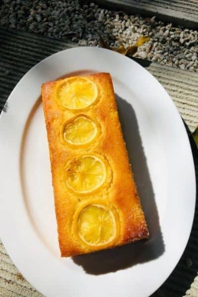 Lemon Sugee Butter cake