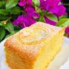 Lemon sugee butter slice