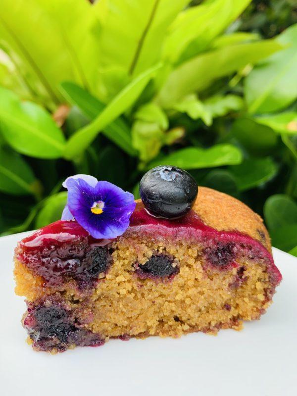 Blueberry Musk slice